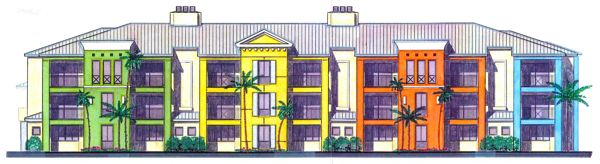 Apartment Building Drawing delray beach commissioners ok 180-unit apartment project